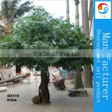 Outdoor artificial evergreen ficus tree Decorative simulation banyan tree bionic tree camouflaged tree cheap price product