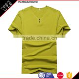 alibaba china supplier polyester spandex Plain v neck white men t Shirt/tee shirt Manufacturer in Dongguan