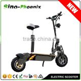 "2016 Best Selling 2 Wheels Standing Outdoor e-scooter 2000w 60V with 12"" off-road tyre ( PES02-2000W 60V )"