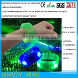 Party Favor Event & Party Item Type and Event & Party Supplies Type Flashing remote controlled led bracelet China manufacturer