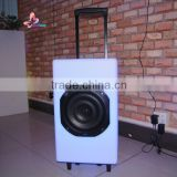 novelty items rgb led karaoke floor hifi trolley bluetooth lightweight Bluetooth wireless stereo speaker for hip-hop use