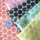 Acrylic woven fabric jacquard dots designed jacquard fabric wholesale for women's dress 2015