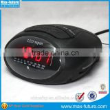 0.6 Inch LED radio alarm clock,am/fm radio(F-1751)
