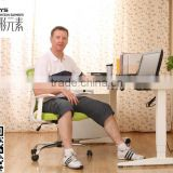 New design wholesale two or three legs electric height adjustable office desk for sitting and standing with high quality
