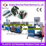 PVC/SPVC/TPE/TPV/TPO/TPU sealing strip extrusion machine / door gasket frame production line for window and door or car