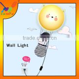 3D wall sticker lamp Modern bedroom wall lamp Valentines Gift Lover Energy saving Lamps