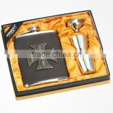 flagon suit 8OZ-67TPT-1D + glass jug sets,Stainless steel hip flask of jug or flagon,wine pot
