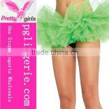 Wholesale Young Girls Sexy Tutu Green Ballerina Fluffy Skirt Free Size