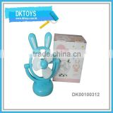Lovely Non-toxic Plastic USB Desk Fan B/O Fan Mini Toy Fan