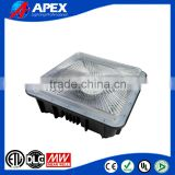 CUL UL low ceiling surface mounted parking garage LED canopy luminaire