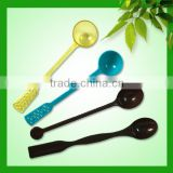 Factory in Ningbo China excellent quality plastic ice cream cup with spoon