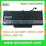 6 Cell Laptop Battery for Dell DGGGT 11XPS11D-1508T XPS11D-1308T 11R Replacement Battery