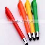 Colored barrel high quality promotional stylus phone touch pen