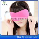 new arrivals 2016 Comfortable 3D eye mask for sleep ,sleeping eye mask wholesale ,Travel fancy 3D sleeping eye mask