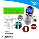 pulse tens acupuncture massage health herald electric physical digital magnetic therapy machine massagers