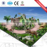 Top popular Amusement Park ,Outdoor plaza Equipment,Life Size Simulation Animatronic Dinosaur