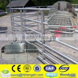 Steel pipe farm gate