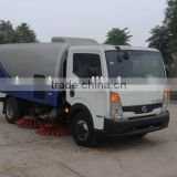 Diesel Engine 140 hp Nissan Vacuum Sweeper Truck Manufacture