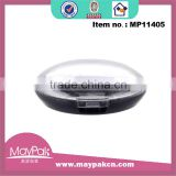 Wholesale plastic cosmetic containers for eye shadow