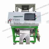 2017 ZRWS Advanced ccd peanut color sorting machine/color separation machine with low carryover rate