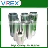 Different Dimensions Hydroponics Ventilation Air Silencer