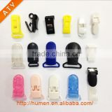 colorful plastic spring small clamp for credentials