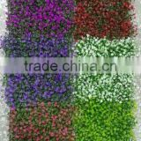 artificial hedge fence indoor/outdoor factory UV protection artificial boxwood mat