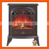 Free Standing -Door decoration Electric Fireplace With CE