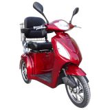 800W Lead-acid Electric Disabled Tricycle, CE approved 3 Wheel Electric Scooter for adults