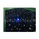 White blue mix color decorative twinkling LED Star Cloth support DMX Controller / Sound  Active