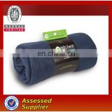 polar fleece knit polyester travel blanket, wholesale wool adult tv plaid blanket manufacturer