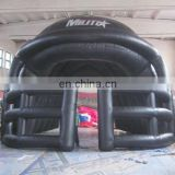Sports entry tunnels,inflatable football helmet run entrance tunnel