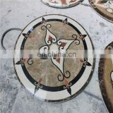 Stone mosaic medallion for hotel