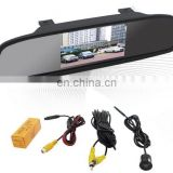 "4.3"" car rear view mirror monitor with reversing camera"