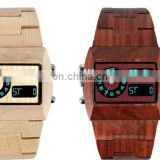 Super Quality Real Wood Watchband Watch For Men Wrist Watch