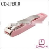 nail clipper with plastic cover CD-JPE010
