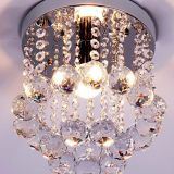 New Design Crystal K9 ceiling Lighting LED Chandeliers for Indoor Lighting