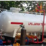 10MT LPG home Cooking Gas Filling Station 20000Liters LPG Skid Plant With LPG Scale accounter and Printer