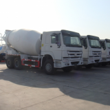 Low price 6*4 Sinotruk HOWO 10 cubic concrete mixer truck
