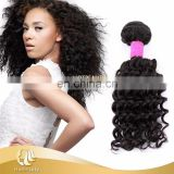 Natural color 1#,1b#,2#,4# Deep Wave Brazilian Curly Hair Wholesale