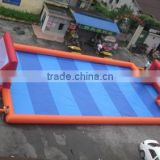 Outdoor inflatable soccer field inflatable football pitch inflatable football arena court for sale