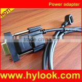 Verifone 08362-01-R 14-PIN Header Cable RS-232 Connection with External Power Brick For Vx810 Vx820 Vx805