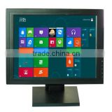 15 inch desktop touchscreen monitor with adjustable stand