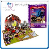 Mini Qute Hallowmas Ferris wheel building block 3d paper puzzle model cardboard jigsaw puzzle game educational toy NO.B368-11