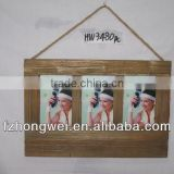 HONGWEI Antiquate Natural Brown Wooden Picture Frame & Photo Frame&Rahmen&Home Decoration &Photo Frame Gifts & Crafts