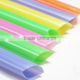 Disposable plastic bubble tea Straws with various colors, hot sale plastic drinking straw