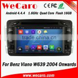 Wecaro WC-MB7507 Android 4.4.4 car dvd player 2 din for Benz Viano w639 autoradio gps 2004 - onwards BT gps 3g TV