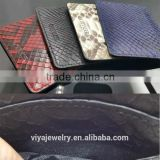 2016 New Custom Luxury Python Skin Wallet Men's Card Holder Genuine Leather Wallet Water Proof