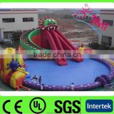 inflatable park water slide / inflatable water amusement park equipment / inflatable water park pool