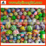 32mm mixed colours mini bouncy anti stress ball capsule toy for vending machine gifts